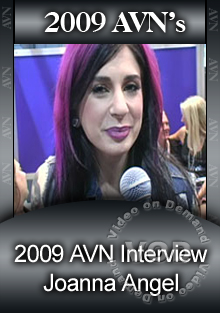 2009 AVN Interview- Joanna Angel